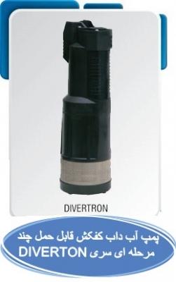 پمپ آب داب کفکش قابل حمل چند مرحله ای سری DIVERTON